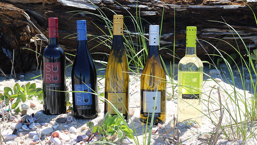 Suhru Wines at the Beach
