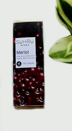 Merlot Dark Chocolate Bar