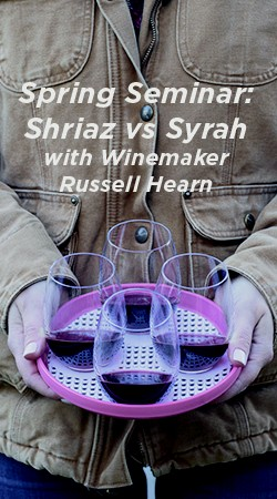Shiraz vs. Syrah with Winemaker Russell Hearn